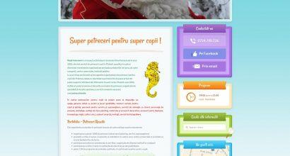 Web design Ploiesti - realizare site petreceri
