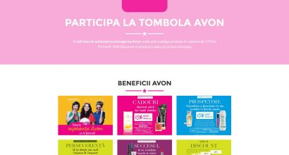 Avon Today - web design Ploiesti
