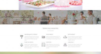 Website aranjamente - web design Ploiesti